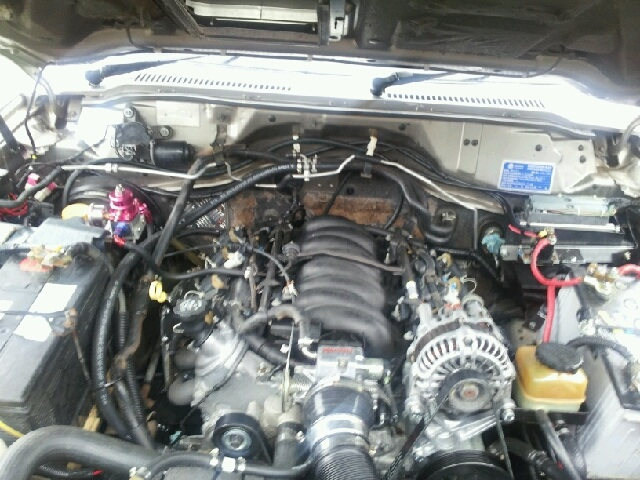 Nissan patrol with la1 Sideshows Performance Wiring