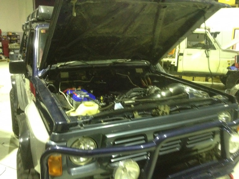 latest conversion wiring gm l98 motor into a nissan patrol post