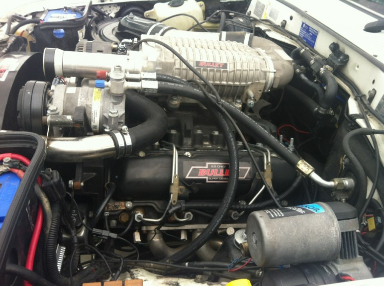 6 5 Ho Chevy Diesel Supercharged Into Landcruiser
