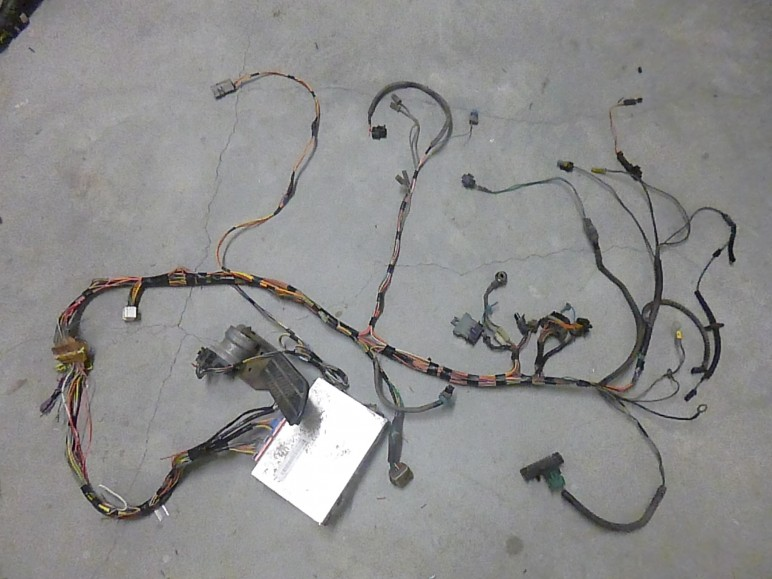 here is a nearly complete gmc chevy 6 5 duramax engine harness post tags 6 5 duramax